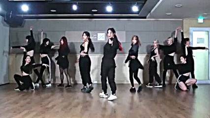 Aoa - Come See Me dance practice mirrored