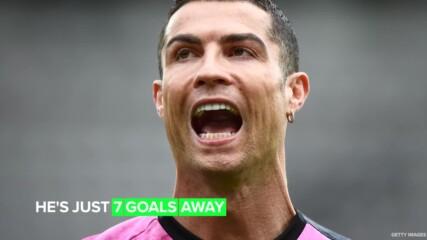 Роналдо е на път да счупи нов световен рекорд