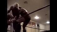 Лоу Ки срещу Стийв Корино срещу Браян Даниелсън срещу Самоа Джо Roh Final Battle 2002