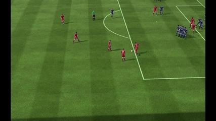 Perfect Tactical free kick | Fifa 13