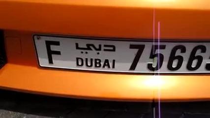Нечовешко Lamborghini Gallardo в Дубай