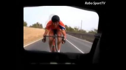 Над 130 км/ч с велосипед!