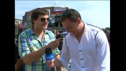 Наи-лудият репортер , на интервюто за кастинга xfactor ! - Смях