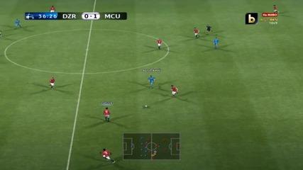 Pes 2012 - Champions League - Dinamo Zagreb vs. Man.united - Ep.4