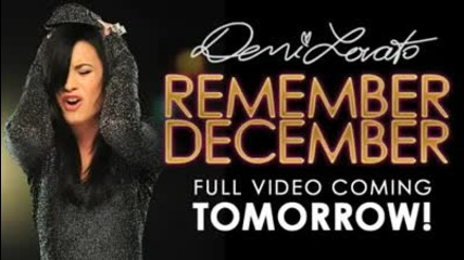 Demi Lovato - Remember December sneak peak 3