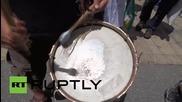 Austria: Activists protest against Bilderberg in Telfs