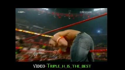 *hq* John Cena vs Кучката Qualifying Match Elimination Chamber 2010