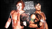 Heath Slater & Justin Gabriel 7th Wwe Theme Song For 30 minutes - Black Or White(wwe Edit)