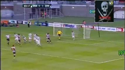 29.07.2010 / Лига Европа / Шамрок - Ювентус 0:2