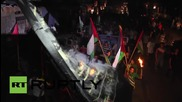 State of Palestine: Thousands march in Gaza in solidarity with the West Bank