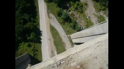 Скачам с Бънджи (моста Витиня)