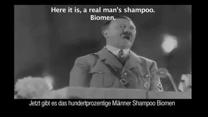 Хитлер рекламира турски шампоан
