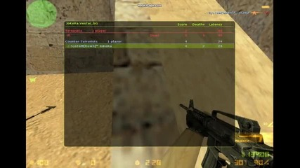 Frags On Counter Strike 1.6