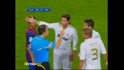 Меси Симулира Срещу Реал Мадрид 2011 ..