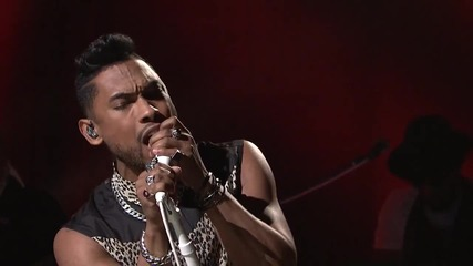Miguel - How Many Drinks ( Live on Snl )