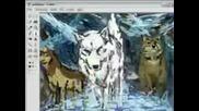 Wolfs rain speed paint [ms Paint]
