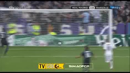Real Madrid 1 - 0 Marseille Ronaldo Goal