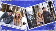 Оксана Козунь - Цветы под снегом!
