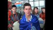 Завърна се българският отбор, завоювал 6 медала на олимпиадата по математика.