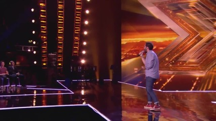 Andrea Faustini sings I Didn't Know My Own Strength - Boot Camp - The X Factor Uk 2014