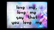 Justin Bieber-love me lyrics