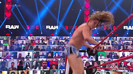 Riddle vs. John Morrison: Raw, Feb. 22, 2021