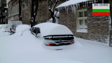 Как преди години зимата изненада Варна