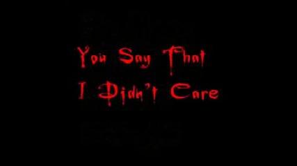 Bullet For My Valentine - Turn To Despair Lyrics