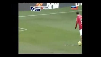 Петте гола на Бербатов срещу Блекбърн ! Ман.юнайтед - Блекбърн 7:1 (всички голове)