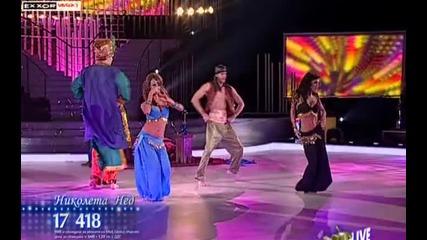 Vip Dance - Индийски танц - Николета, Нед, Елена и Кости