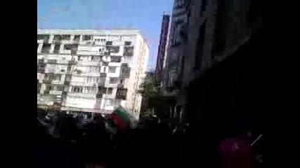 Всички заедно срещу ромите. Протеста в Пловдив