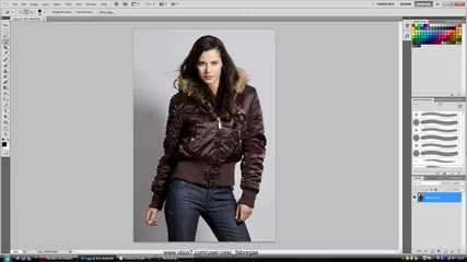 Photoshop Cs5 : Refine Edge Tool