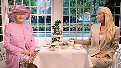 Цветелина Янева на чай с английската кралица!