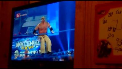 Rey Mysterio срещу Cm Punk с намесата на Коуди Роутс (бг аудио)