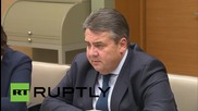 Russia: Putin meets German Vice-Chancellor Gabriel to discuss Syria and Ukraine