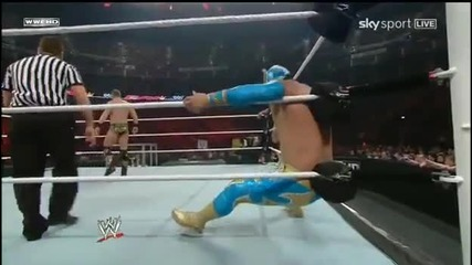 Sin Cara & John Cena vs The Miz & Alex Riley