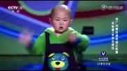 Завръщането на невероятното 3годишно танцуващо китайче
