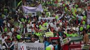 Mexico: Anti-abortion activists march in Mexico City