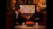Robert Pattinson On Ellen
