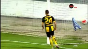 Мартин Камбуров с ефектен гол за Локомотив Пловдив срещу Ботев