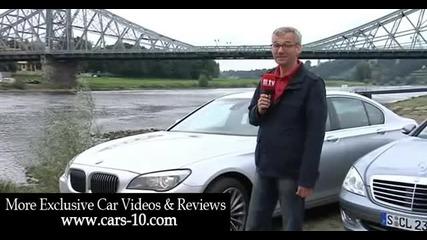 Mercedes S Class vs New Bmw 7 Series road test