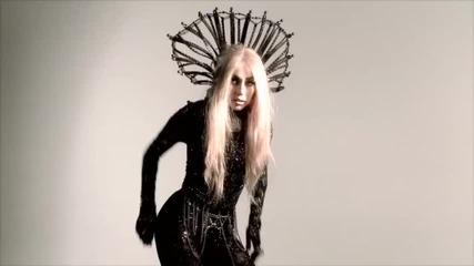 Lady Gaga по време на снимки - Фотосесия на Nick Knight за списание Vanity Fair