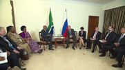 Russia: Zuma invites Putin to South Africa for state visit during BRICS Summit