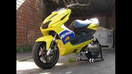 Yamaha aerox 2011г
