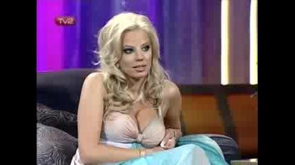 Емилия в Шоуто на Азис - 10.09.2008