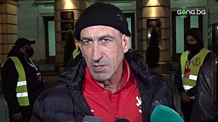 Лечков: Мъчно ми е, вижте къде играят играчите на Северна Македония и къде нашите