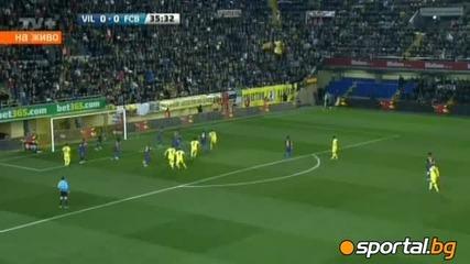 Виляреал - Барселона 0 - 0 28.01.2012
