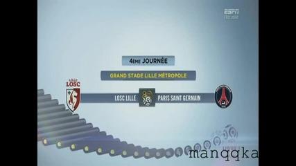 Lille vs P S G