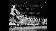 Bijelo Dugme - Meni se ne spava (бг превод)