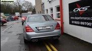 Mercedes S500 W221 Cks Sport exhaust